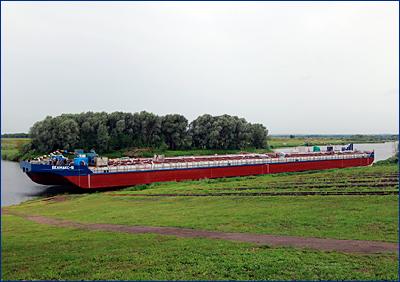 Окская судоверфь спустила на воду баржу «Белмакс 5» проекта ROB20