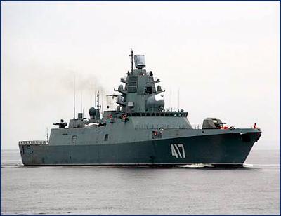 Первый модернизированный корабль проекта 22350М планируется получить в 2026 году