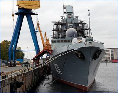 Фрегат «Адмирал Касатонов» выйдет на испытания до конца 2018 года