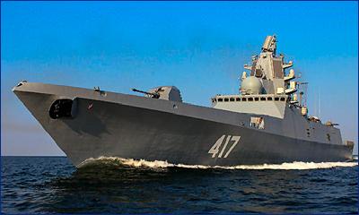 Российский фрегат-невидимка превзошел боевые корабли США