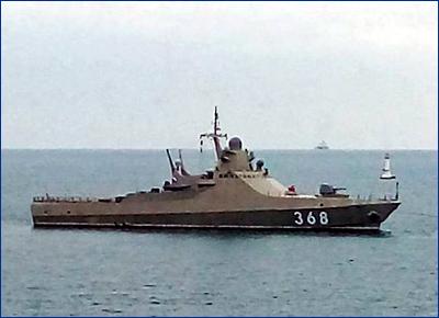 Модульный корвет «Василий Быков» примут в состав флота до ноября