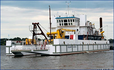 Комиссия Росморречфлота приняла построенный на ПАО ССК новый земснаряд для Ленского бассейна