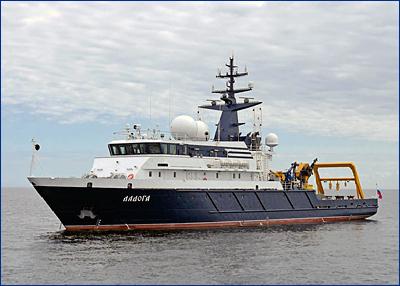 Завершен этап заводских испытаний опытового судна «Ладога» проекта 11982