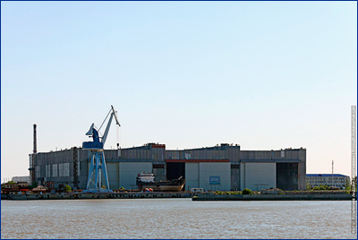 Судостроительный завод «Лотос» благодаря таможенным преференциям получил иностранное оборудование