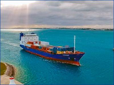 В Китае заложили киль «самого передового судна» для Бермудских островов