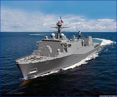 Huntington Ingalls Industries получила аванс на строительство десантного корабля (LPD 30)