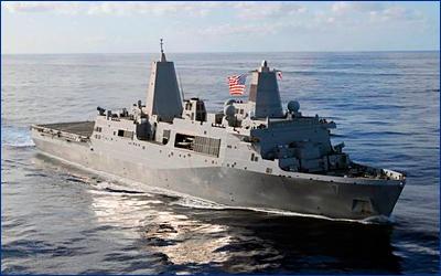 В США начато строительство очередного десантного корабля типа «Сан-Антонио»