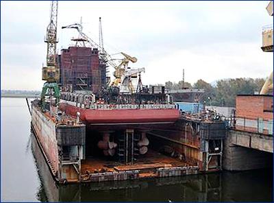 Второй снабженец для «Газпром флота» будет отправлен на достройку в середине сентября