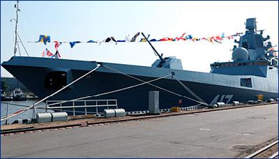 Второй фрегат «Адмирал Касатонов» передадут флоту в 2019 году