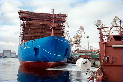 Ходовые испытания ледокола «Арктика» планируется начать в ноябре 2019 года