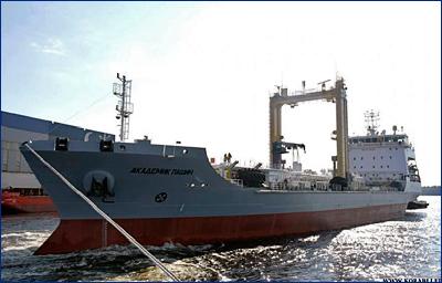 На танкере «Академик Пашин» продолжаются испытания системы УПГ