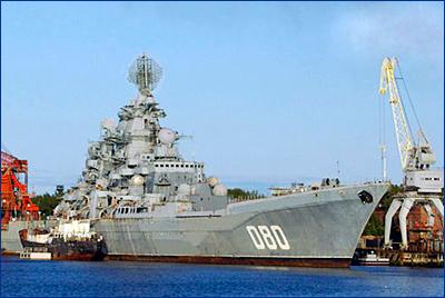 ВМФ России получит атомный крейсер «Адмирал Нахимов» в 2022 году