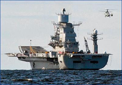 Начинается модернизация авианосца «Викрамадитья»