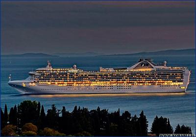 Береговая охрана эвакуировала пассажира с круизного лайнера «Grand Princess»