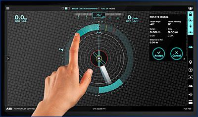 Cистема динамического позиционирования ABB Ability™ Marine Pilot Control