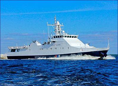 Сторожевой корабль «Охотник» заложен на Судостроительной фирме «Алмаз»