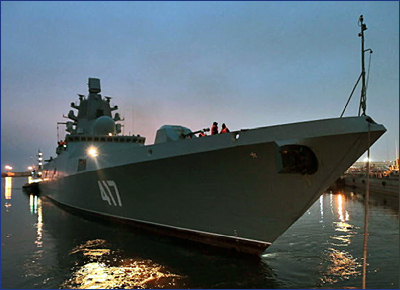 ВМФ получит фрегаты «Адмирал Головко» и «Адмирал Исаков» до конца 2022 года