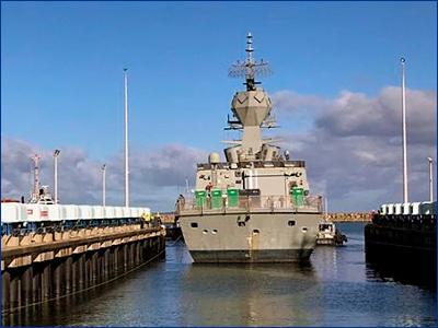 В плане модернизации семь фрегатов класса «Анзак»