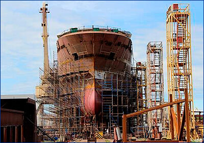 В России строятся 148 морских судов