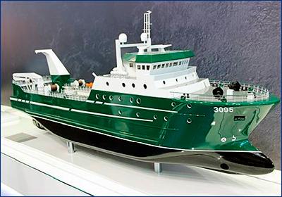 Головной траулер проекта 03095 спустят на воду в октябре