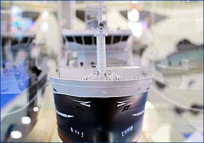 Калининградская область представила на МРФ проект нового промыслового судна