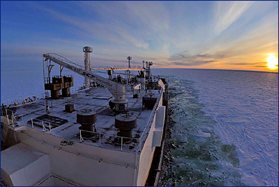 Самый мощный в мире флот ледового класса с системой Azipod®