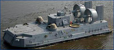 Хабаровский завод построит восемь судов на воздушной подушке «Мурена»