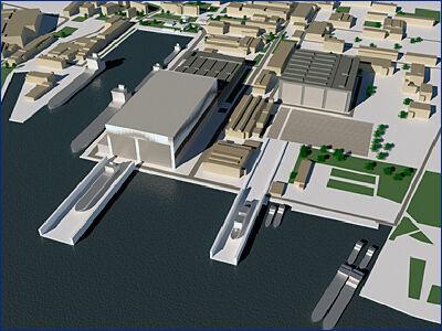 С новым эллингом «Северная верфь» сможет строить почти все крупнотоннажные суда