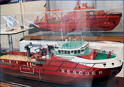 Невский ССЗ предложил Арктике спасателей