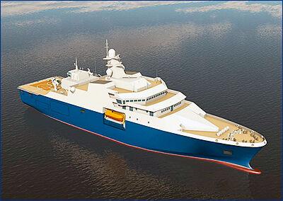 ПСЗ «Янтарь» сформировал корпус головного судна проекта 23700 «Воевода»