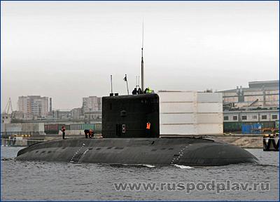 Алжир получил третью подводную лодку проекта 06361
