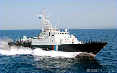 Сторожевой корабль проекта 10410 «Светляк» для ФСБ России оснащен системами управления