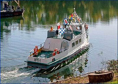 В Константиновске впервые за 27 лет построено самоходное судно