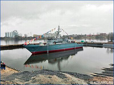 Новый тральщик «Иван Антонов» испытают с противоминными безэкипажными катерами