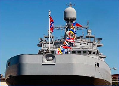 Корабль «Иван Грен» войдет в состав Северного флота до конца октября