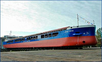 Завод «Красное Сормово» завершил строительство первой серии сухогрузов проекта RSD59