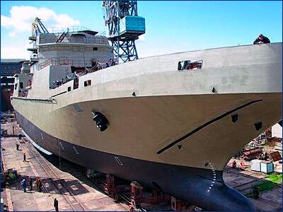 Новый БДК планируют передать ВМФ в 2019 году