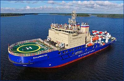 «Росморпорт» предлагает построить еще два дизель-электрических ледокола проекта 21900М