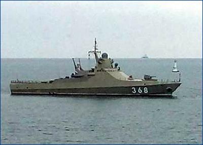 Новейший патрульный корабль для Черноморского флота «Василий Быков» проходит госиспытания