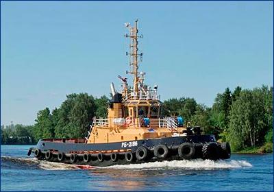 На Камчатке ввели в строй новый рейдовый буксир Тихоокеанского флота