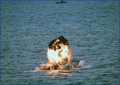 EU Navfor уничтожила пиратское судно у берегов Сомали