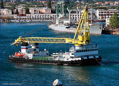 В Севастополе будут строить плавкран грузоподъемностью 700 тонн