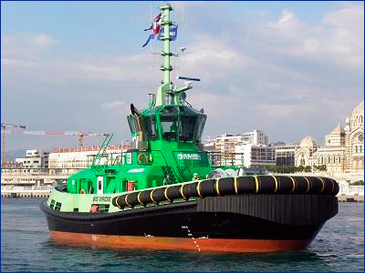 Буксир серии Damen RSD Tug 2513 номинирован на премию KNVTS «Судно года»