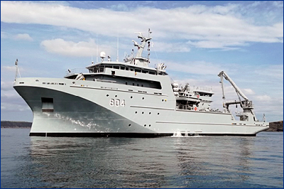 Для ВМС Марокко во Франции построили гидрографическое судно нового поколения