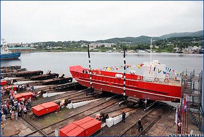 Два судна, строящиеся на верфях Приморского края, прибудут на Камчатку в конце года