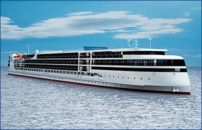 Круизный лайнер, строящийся на «Лотосе», будет готов к испытаниям в 2019 году