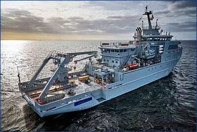 Марокканский флот получил гидрографическое судно
