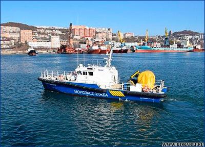 Спасательный катер-бонопостановщик «Капитан Балашов» пополнил приморскую флотилию Морспасслужбы