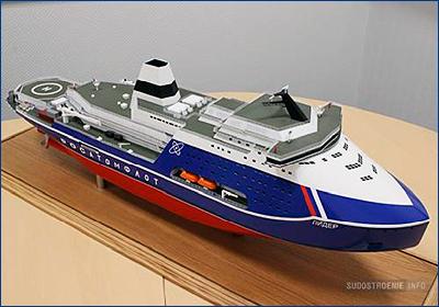 Разрешительная документация для постройки ледокола «Лидер» будет готова к июлю 2019 года