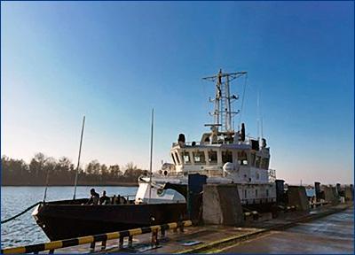 БГК «Александр Евланов» доставлен в Балтийск для испытаний